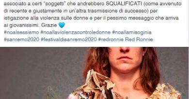 """Festival di Sanremo 2020, Loredana Bertè ai giornalisti: """"Non date il premio intitolato a mia sorella a soggetti che andrebbero squalificati"""""""