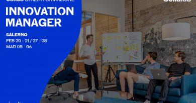 """""""INNOVATION MANAGER"""" Il corso di alta formazione per innovare in azienda"""
