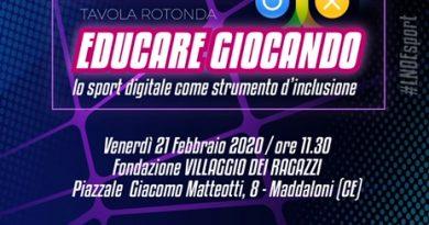Un campionato alla playstation: La lega dilettanti sbarca al Villaggio dei Ragazzi di Maddaloni per la tappa campana di ESports