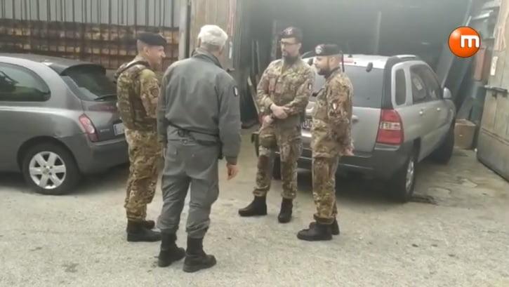 Napoli, Polizia Metropolitana e Esercito a Fuorigrotta ...
