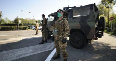 Nell'area metropolitana di Napoli 35 militari per l'operazione Strade sicure