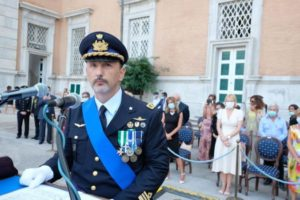 Intervento del T.Col. Roberto Impegno, Comandante Subentrante