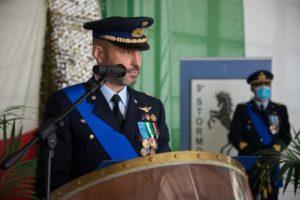 L'intervento del Colonnello Andrea Nanni Comandante subentrante.