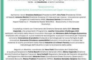 """""""Bioeconomia: Sostenibilità, Economia Circolare ed Open Innovation"""", per la giornata nazioale delle Bioeconomia centrale la SSIP"""