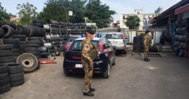 Continuano i controlli per contrastare il fenomeno delle illegalità nel ciclo dei rifiuti nelle province di Napoli e Caserta