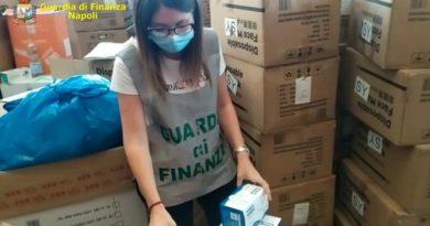 Napoli: Sequestrati 139.000 dispositivi sanitari non a norma. 8.000 - Erano destinati a bambini