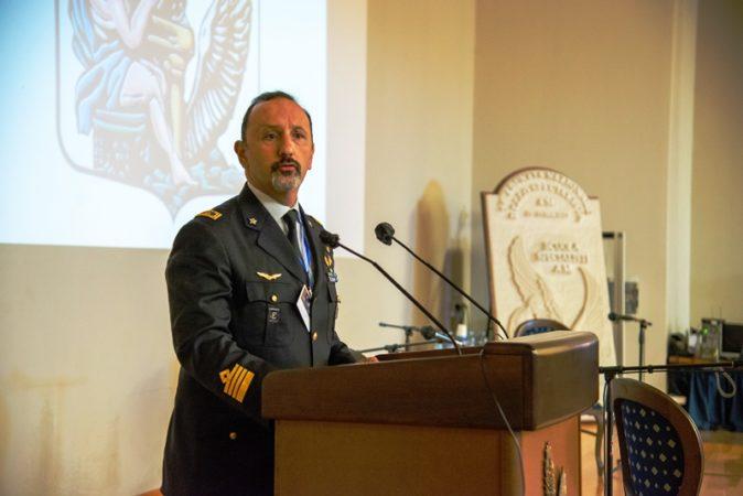 Col. Roberto Impegno, Comandante della Scuola Specialisti A.M.