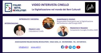 Beni culturali e digitalizzazione: video intervista all'Ing. Franco Losi cofondatore della Cinello