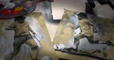 Omaggio a Maradona, lo scultore Domenico Sepe dedica un'opera in bronzo al Pibe De Oro