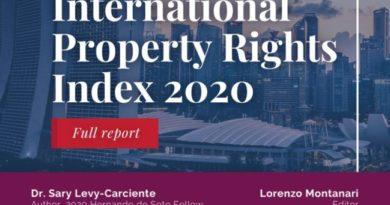 Indice Internazionale sulla tutela dei diritti di proprietà: Italia 47°, perde posizioni ed ultima tra i paesi del G7 e tra quelli della UE