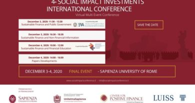 4° Social Impact Investment International Conference