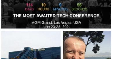 Massimiliano Canestro è stato invitato a ricevere un riconoscimento internazionale alla Internet Conference 2021 di Las Vegas