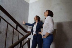 Silvana Giannuzzi e Marta Matano M5S