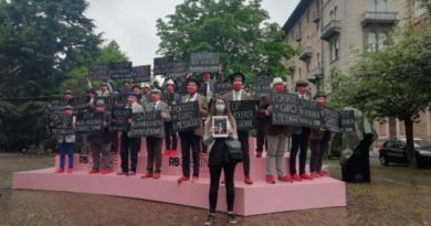 "Gli ""Uomini in scarpe rosse"" al Giro d'Italia"