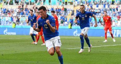 Europei, l'Italia batte il Galles: 1-0   Mancini cambia otto giocatori su 11
