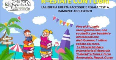 Torre Annunziata, Libreria Liberta' raccoglie e regala testi a bambini e adolescenti