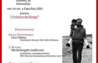 Rotary e la casa editrice campana 2000diciassette presentano il libro dell'astrofisico: Michelangelo Ambrosio