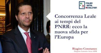 Concorrenza Leale ai tempi del PNRR: ecco la nuova sfida per l'Europa