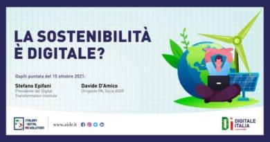 La sostenibilità digitale, approfondimento a Digitale Italia
